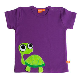"Lipfish T-Shirt, Motiv ""turtle"" Farbe ""purple""4185"