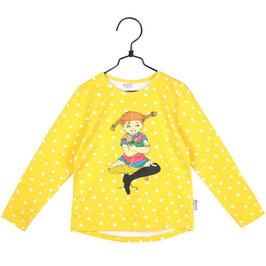 Martinex Pippi Langstrumpf  LA Shirt gelb