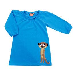 Lipfish LA Kleid, Erdmännchen blau
