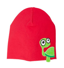 "Lipfish Mütze, Motiv ""turtle"" Farbe ""red""7528"