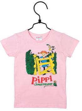 Martinex Pippi Langstrumpf T-Shirt rosa
