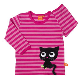 Lipfish LA Shirt, Motiv Katze gestreift