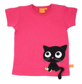 "Lipfish T-Shirt, Motiv ""cat"" Farbe ""Pink""4152"