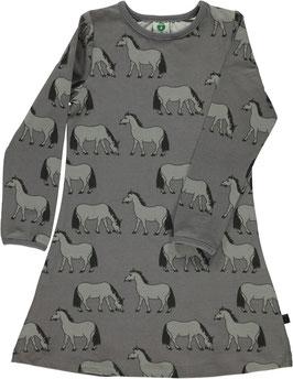 Smafolk LA Kleid Pferde grau