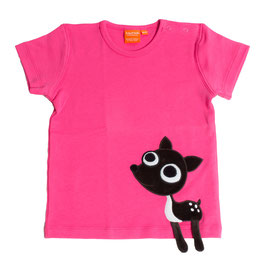 "Lipfish T-Shirt, Motiv ""Reh"" Farbe ""hot pink""4180"