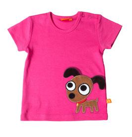"Lipfish T-Shirt, Motiv ""Hund"" Farbe ""pink""4229"
