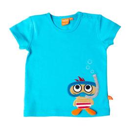 """Lipfish T-Shirt, Motiv """"Taucher"""" Farbe """" blau"""" 42202"""