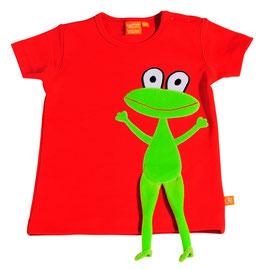 "Lipfish T-Shirt, Motiv ""Frosch"" Farbe ""rot""4110"