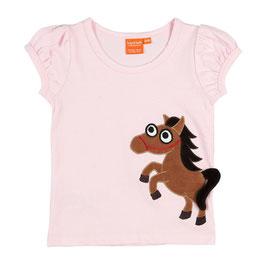 """Lipfish T-Shirt, Motiv """"Pferd """" hell-rosa"""