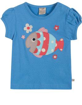 Frugi T-Shirt Fisch blau