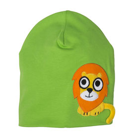 Lipfish Mütze, Motiv Löwe grün