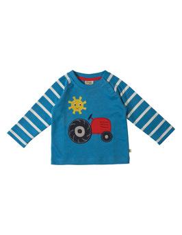 Frugi LA Shirt Traktor blau