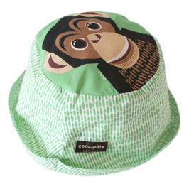 Coq en Pate Sonnenhut Schimpanse grün