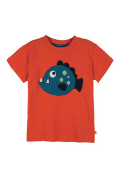 Frugi T-Shirt Piranha orange