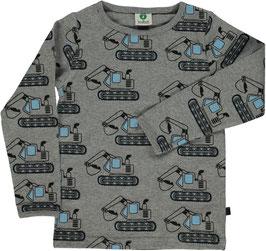 Smafolk LA Shirt Bagger grau
