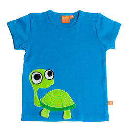 "Lipfish T-Shirt, Motiv ""turtle"" Farbe ""blue""4186"