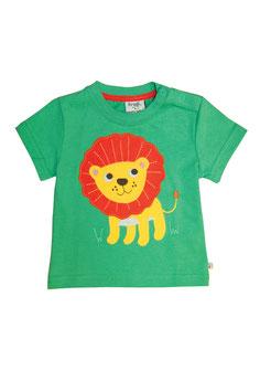 Frugi T-Shirt Löwe grün