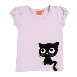 "Lipfish T-Shirt, Motiv ""cat "" flieder"