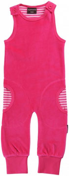 Maxomorra Playsuit velour pink/rosa