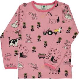 Smafolk LA Shirt Bauernhof rosa