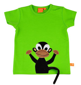 "Lipfish T-Shirt, Motiv ""monkey"" Farbe ""leafgreen""4501"