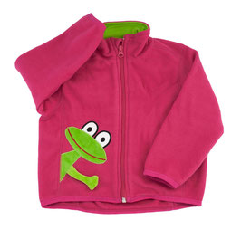 Lipfish Polar Fleece Jacke cerise frog 3381