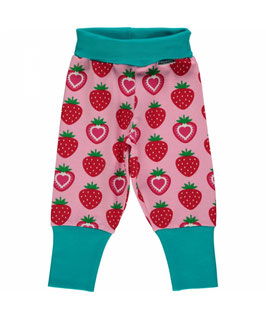 Maxomorra   Baby-Hose Strawberry rosa