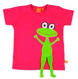 "Lipfish T-Shirt, Motiv ""Frosch"" Farbe ""Pink""4063"