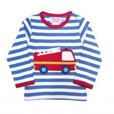 Toby tiger LA Shirt Feuerwehr  Streifen blau/weiß