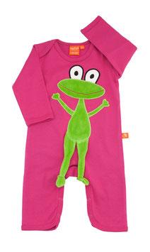 "Lipfish Jumpsuit,LA Motiv ""Frosch"" Farbe ""cerise"" 71030"