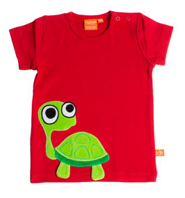 "Lipfish T-Shirt, Motiv ""turtle"" Farbe ""red""4187"