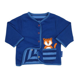 Toby Tiger leichte  Wendejacke Tiger blau