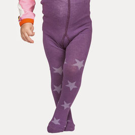 Mala Strumpfhose Sterne lila