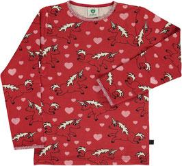 Smafolk LA Shirt Einhorn rot