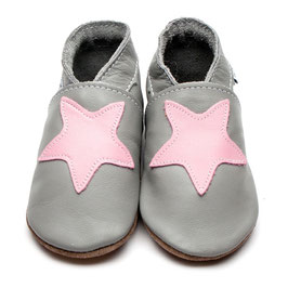 inch-blue Lauflernschuhe Stern rosa