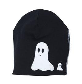Lipfish Mütze, Motiv Geister schwarz