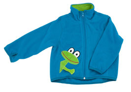 Lipfish Polar Fleece Jacke arctic blue frog 3380