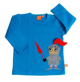 "Lipfish LA Shirt, Motiv "" Ritter "" blau 42060"
