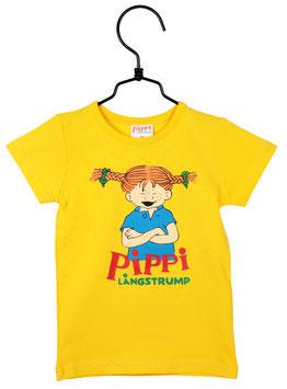 Martinex Pippi Langstrumpf T-Shirt gelb