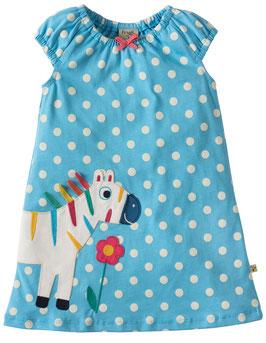 Frugi Kleid Polkadot Zebra hell-blau