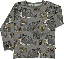 Smafolk LA Shirt Drachen und Ritter grau