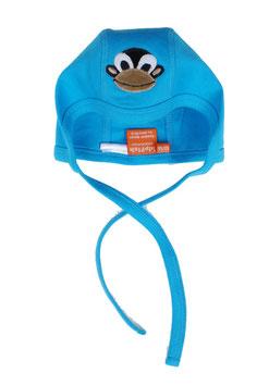 "Lipfish Babycap, Motiv ""monkey"" Farbe ""turqoise""7510"