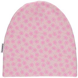 Maxomorra Mütze Pusteblumen rosa