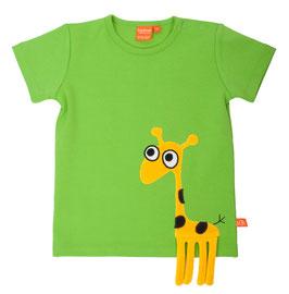 """Lipfish T-Shirt, Motiv """"Giraffe"""" Farbe grün"""