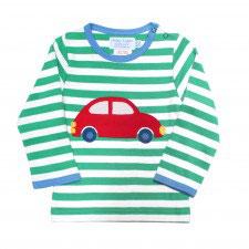 Toby tiger LA Shirt  Auto  Streifen grün/weiß