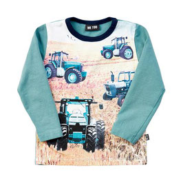 Me Too LA-Shirt Traktor grün