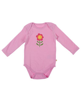 Frugi Body LA Blume rosa