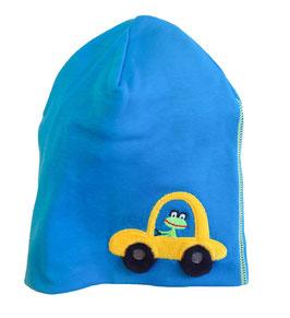 """Lipfish Mütze, Motiv """"car"""" Farbe """"blue""""7529"""