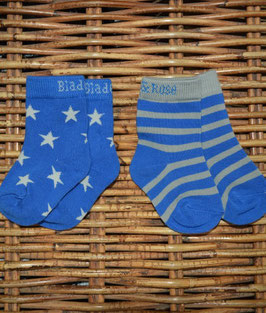 Blade and Rose Socken im 2er Pack Stern blau