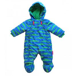 Toby tiger Schneeanzug Krokodile blau/grün